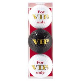 Tres bolas - motivo VIP