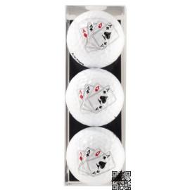 Tres bolas - motivo Poker