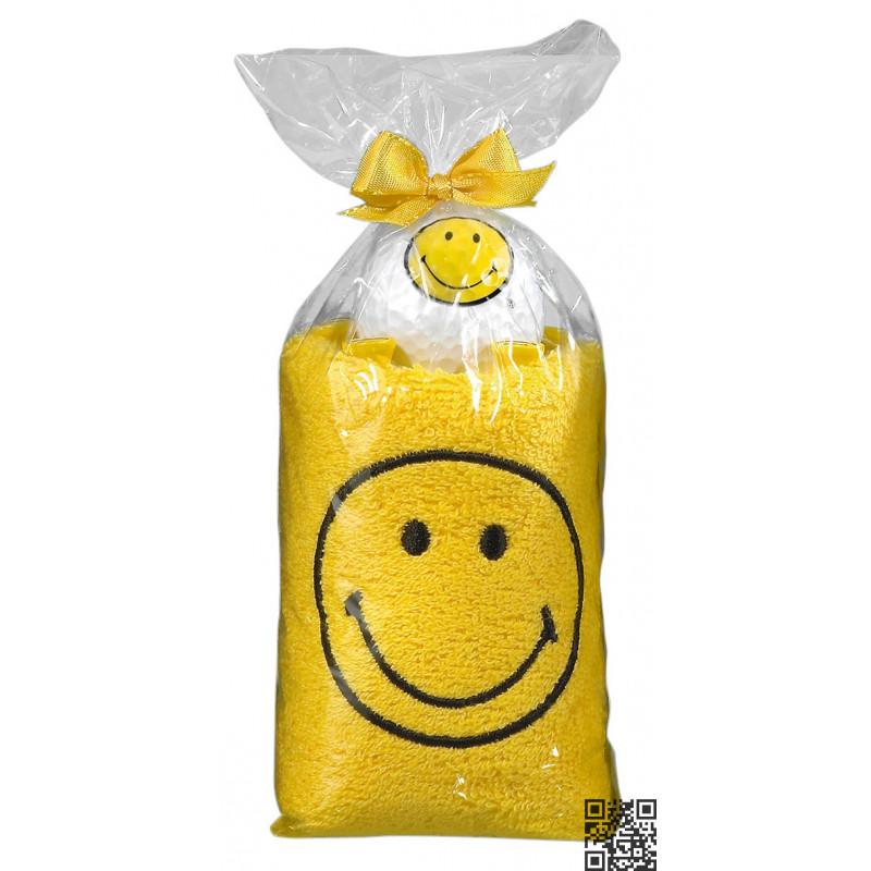 PACK TOALLAS SMILEY amarillo