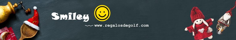 Smiley y Golf Accesorios de golf con motivos Smiley perfecto regalo